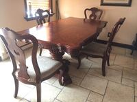 Rectangular wooden 5 piece dining set Montréal, H8S 4C7