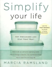 """Book """"Simplify Your Life"""" by Marcia Ramsland"""
