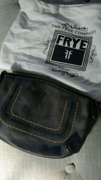 """New Frye """"Anna"""" leather travel pouch.  Newport News, 23601"""