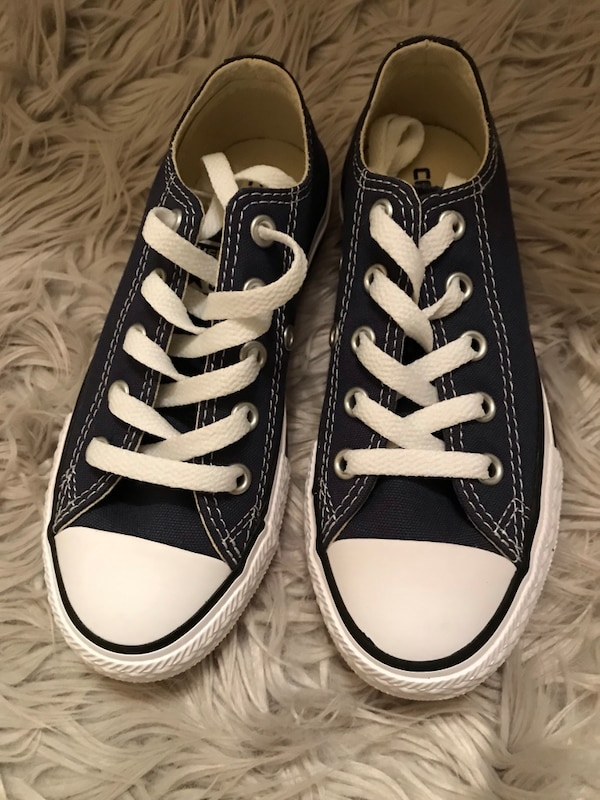 check out 99fc4 435b3 Used Navy blue boys converse size 12 for sale in Duluth - letgo