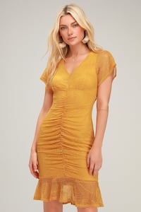 Yellow Lace Summery Dress New with tags Toronto, M3C