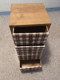 Metal Cabinet with 4 Drawers-Great Storage Chevy Chase