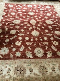 white and brown floral area rug Manassas, 20110