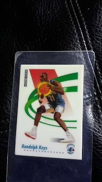 Randolf Keys collectible card Gatineau, J8P 3K7