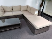 New Outdoor Sectional. Cream. Free Delivery ! Culver City