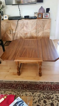 Solid wood Coffee table set with end table and con Mississauga, L5J