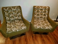 Pair of Adrian Pearsall chairs Elmwood Park, 60707
