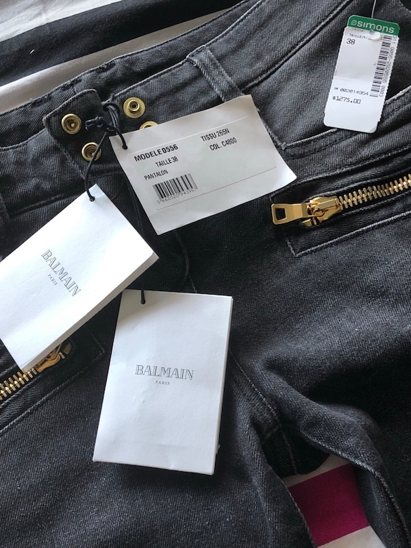 e3b841476e9b22 Used Balmain Jeans Womens BRAND NEW WITH TAGS for sale in Toronto ...