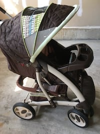 baby's black and gray stroller Mississauga, L5M 6M6