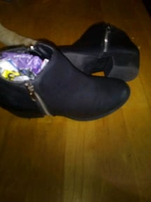 Black bootiesShoes