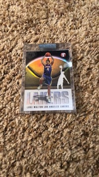Lakers Luke Walton Card Reno