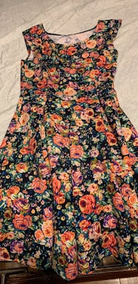 colorful floral print dress Upper Marlboro, 20774