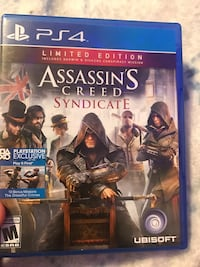 Assassin's Creed Syndicate PS4 game case Pretty Prairie