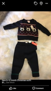 6-12 month winter outfit new with tags 1308 km