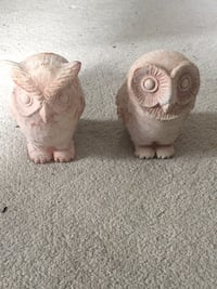 Owls made of brick 726 mi