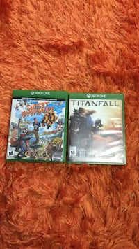 two assorted Xbox One game cases Sherbrooke, J1R 0E2