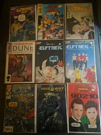 Comic books!!worth waaaaaaay more . look at all pics Langley City, V3A 7Z2