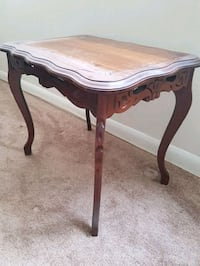 rectangular brown wooden side table Hamilton, L8S 1H4