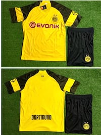 Dortmund Soccer Set 18/19 jersey & short Large New, Was $ 35 Now $ 20 Miami, 33187