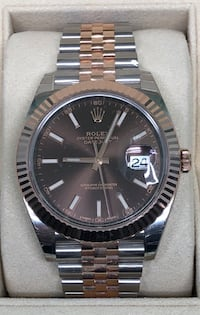 ROLEX Datejust 2 Two-Tone Everose Gold Jubilee Band LIKE NEW! Costa Mesa, 92627
