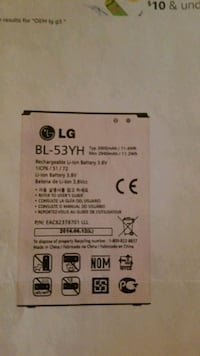 Brand new cell phone battery, I bought the wrong o Milwaukee, 53202