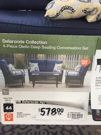 Patio chairs no cushion almost new , T7Y