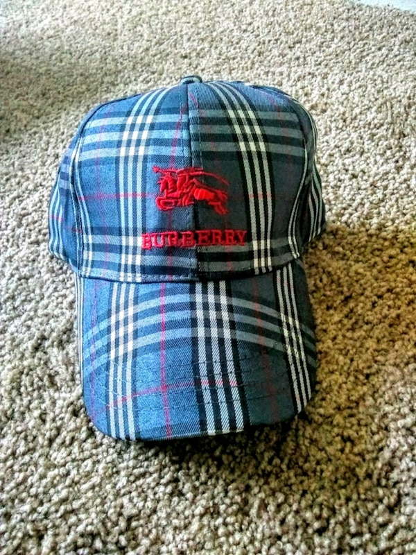 196eb99e1d8 Used Gray Burberry strapback hat for sale in Conyers - letgo