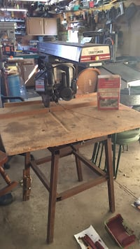 "10"" Craftsman Radial Arm Saw with Stand (works great) Ashland, 44805"