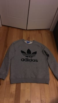 New Grey Adidas Sweater size medium