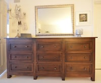 9 drawer large dresser from Room & Board - must pick up by Sept 26! Detroit, 48226