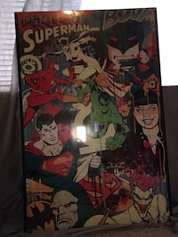DC Comics Superman poster Kansas City, 64118