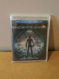ender's game bluray NEW SEALED !! Barrie, L4N 8S6