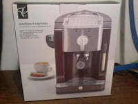 Espresso machine new in box PC brand New Westminster, V3M 3Z8
