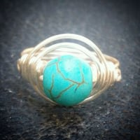Turquoise Gemstone Ring Handmade New Bakersfield, 93312