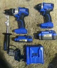 Brand New Impact Driver&Hammer Drill Set Oakland, 94607