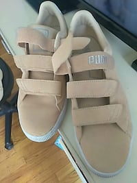 pair of brown leather open-toe sandals Detroit, 48235