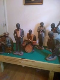 2ft tall vintage 6 man jazz band Bessemer, 35022