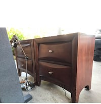 Set of side tables and chest of drawers  Delivery is possible