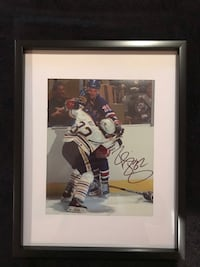 Buffalo sabres Rob Ray Signed and framed photo Châteauguay, J6K 2A7
