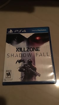 Killzone Shadow Fall PS4 game case