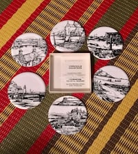 Set of new Yorkshire Coastal Scenes coasters Toronto, M2M 2A2