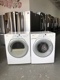 Whirlpool duet front loading washer and gas dryer set!