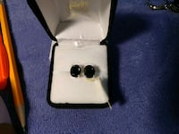 (New) black spinel sterling silver Stafford, 22556