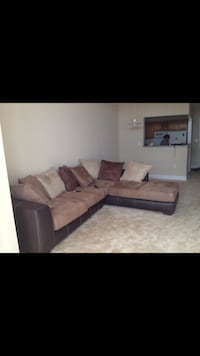 Brown and Black Sofa under excellent condition  Silver Spring, 20910