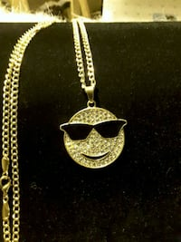 You Got to Wear Shades Iced Emoji Pendent @25$ Ladson, 29456