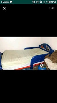 Cars Toddler Bed Mattress included Escondido, 92027