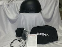 Sena Calvary Built In Bluetooth Street DOT Motorcycle Half Helmet Wichita, 67211