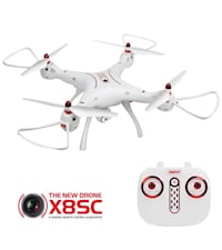 Syma X8SC Drone with Camera, 2.4GHz 6-Axis Gyro RC Quadcopter Aurora, 80014
