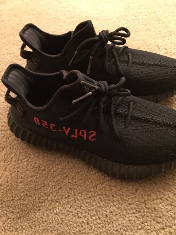 9c7e96f665f21 Used Yeezy v2 bred size nine for sale in Fremont - letgo