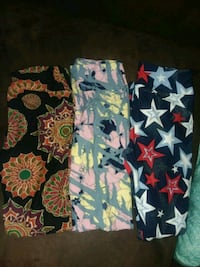Set of 3 Pair of One Size Lularoe Leggings NWOT Tuscaloosa, 35405
